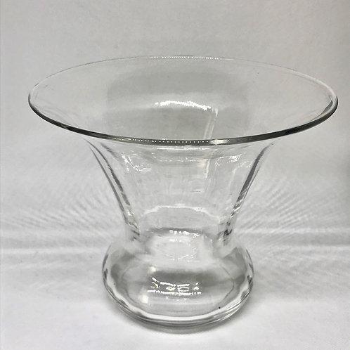 Vase transparent vintage