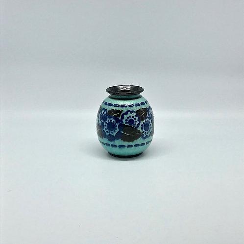 Vase art déco en céramique Paul Jacquet