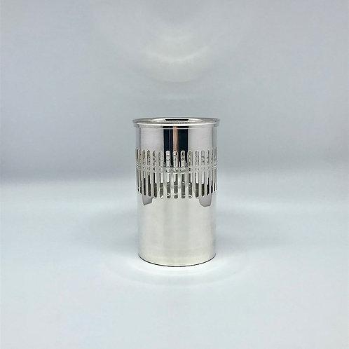 Cache bouteille Ercuis en métal argenté