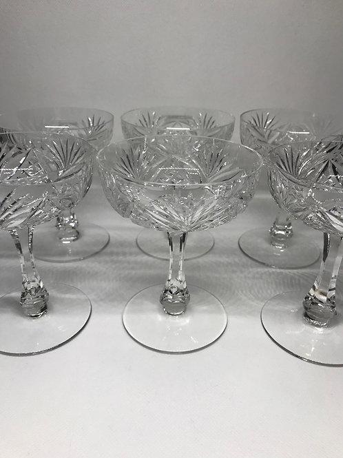 Coupes à Champagne St Louis modèle Chantilly