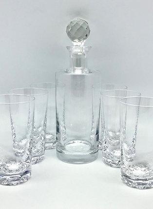 Carafe et verres à whisky Sèvres AV046