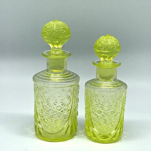 Flacons à parfum en ouraline