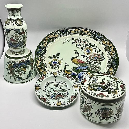 Vaisselle Villeroy et Boch collection Paon