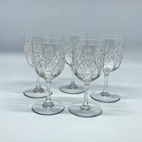 Verres Baccarat forme 8738 - taille 9254