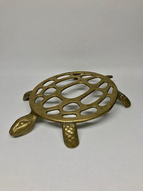 Dessous de plat tortue en laiton