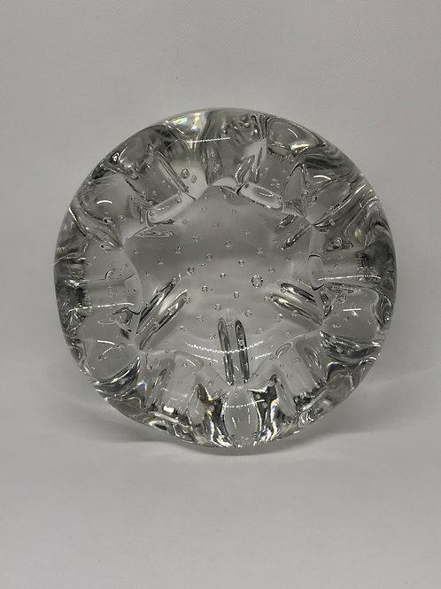 Cendrier vintage en cristal Schneider