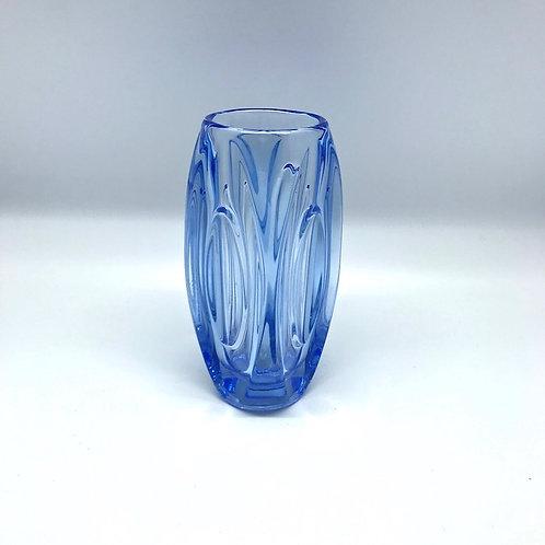 Vase bleu Rudolf Schrötter pour Rosice