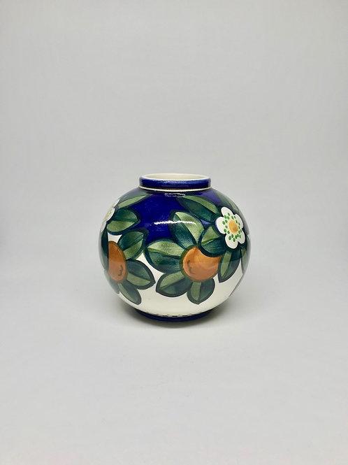 Vase boule  Aluminia-Royal Copenhagen