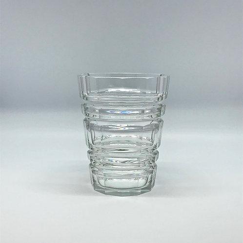 Vase art déco en cristal