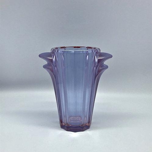 Vase art déco Verlys lilas