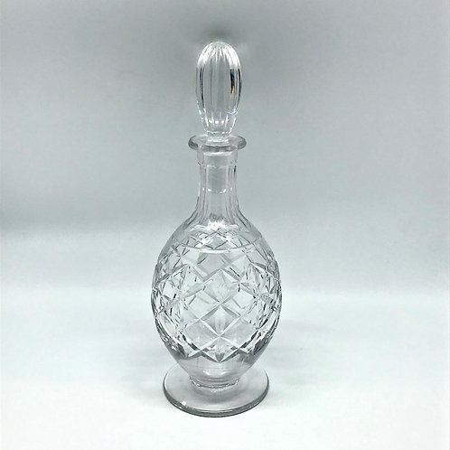 Carafe à vin vintage en cristal taillé