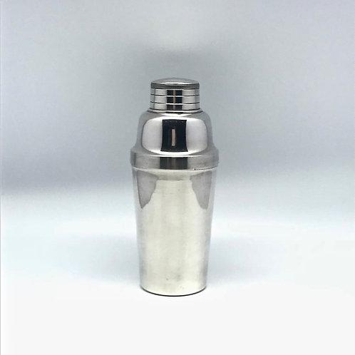 Shaker vintage en métal argenté Christofle