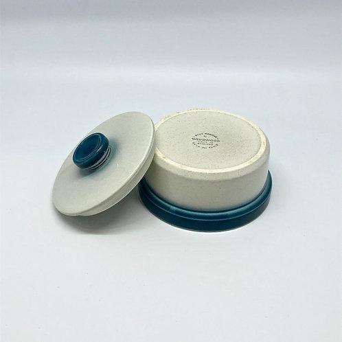 Boîte en porcelaine Wedgwood Blue pacific