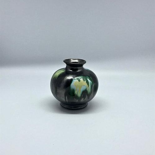 Céramique boule noir et vert, Belgique
