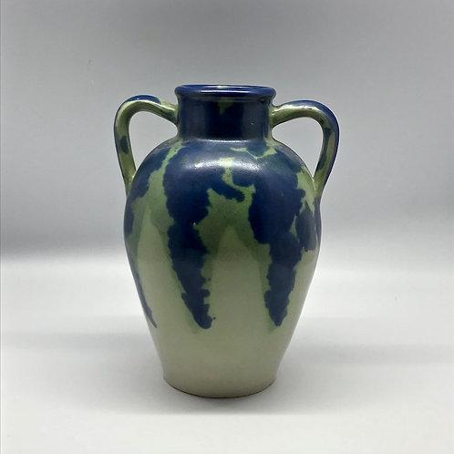 Céramique Petit Massé bleu et vert