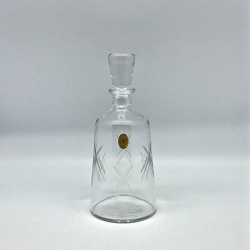 Carafe à whisky vintage en cristal