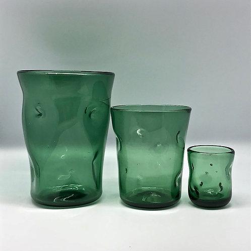 Vases en verre soufflé-pincé Empoli
