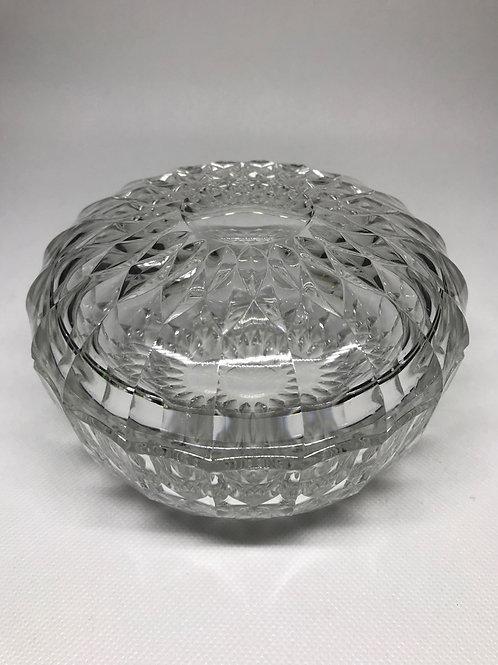 Bonbonnièreen verre taillé