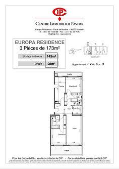 Europa c 3 pièces 173 m2 C2