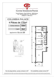 Columbia 4 pièces 175 m2 C1-2