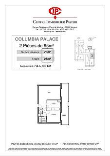 Columbian 2 pièces 95 m2 C2-3