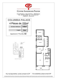 Columbia 4 pièces 155 m2 C2-1