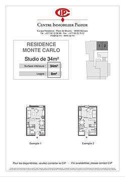 Residence Monte Carlo Studios 34 m2