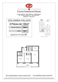 Columbia 3 pièces 130 m2 C1-1