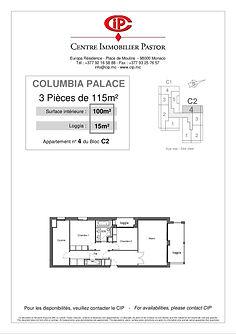 Columbia 3 pièces 115 m2 C2-4