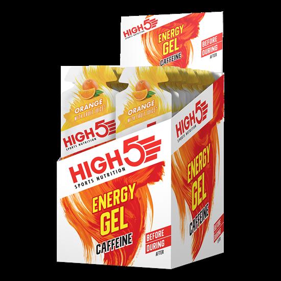High 5 Energy Gel + Caffeine - 20 Pack