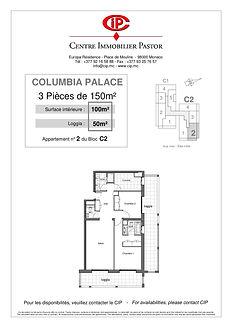Columbia 3 pièces 150 m2 C2-2