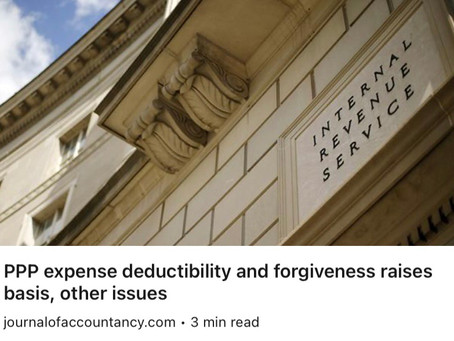 Deducting PPP expenses may be tricky for some businesses.