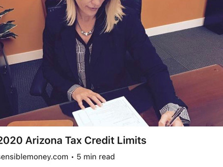 Arizona tax credits are a great way to lower your tax bill!