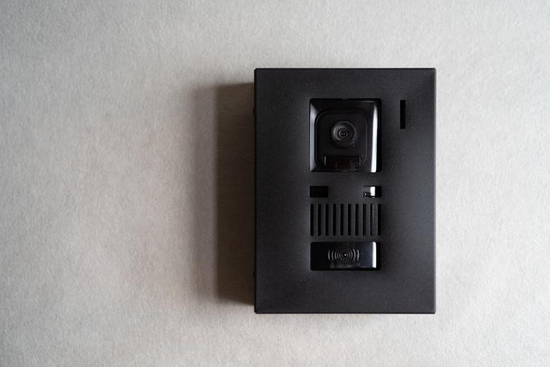 インターホンカバー 黒染め (VL-V522L用)