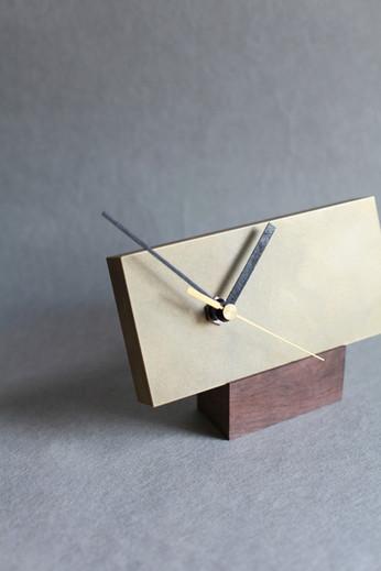 時計 真鍮無垢