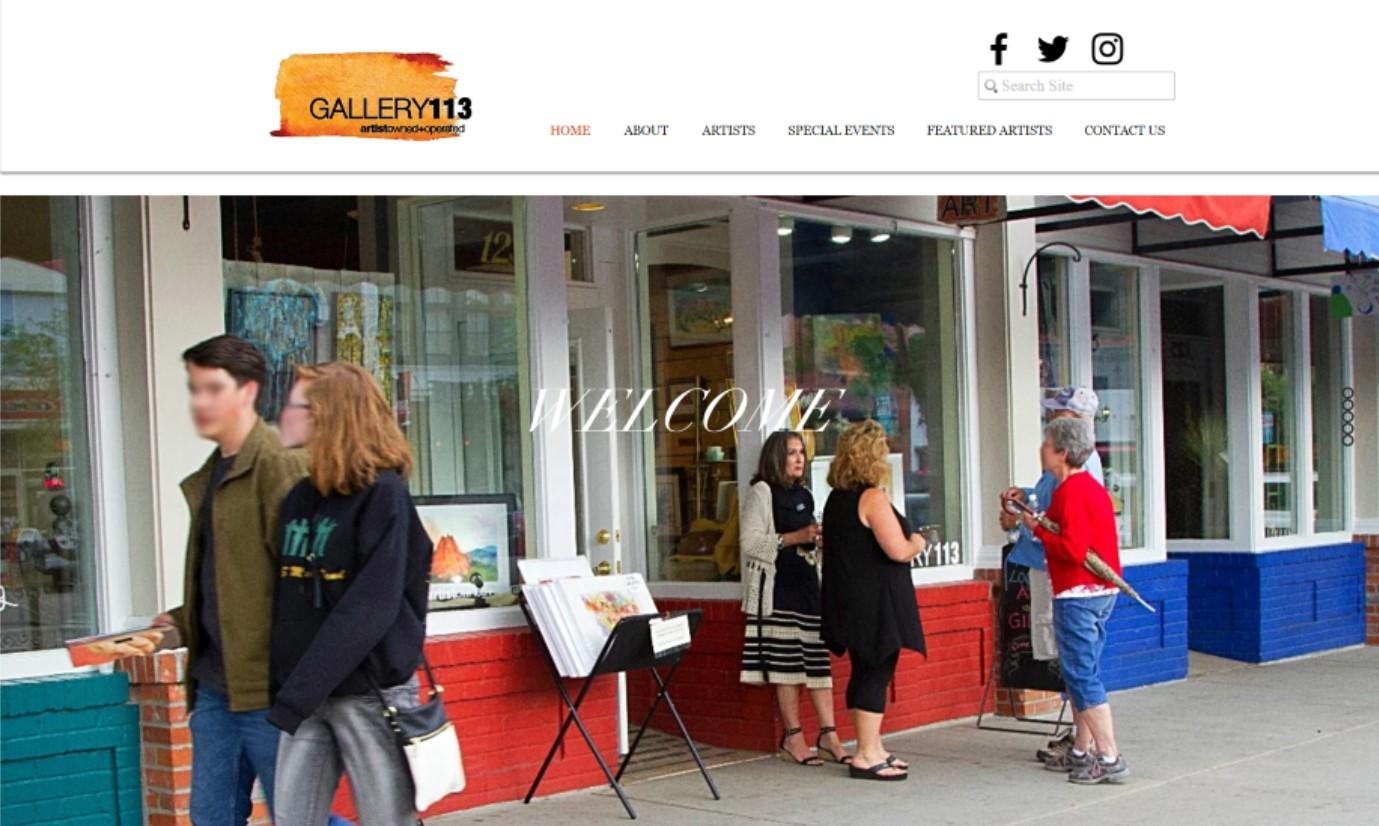 Gallery 113 Website