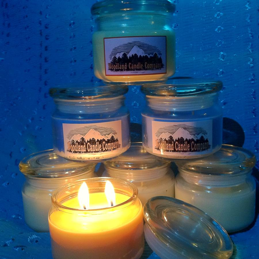 Woodland Candle Company Labels