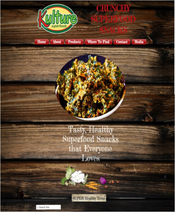 Kulture Foods Website
