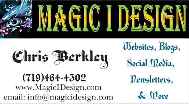 Magic I Design Business Card