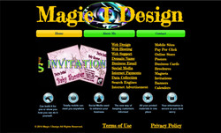 Magic I Design Old Website