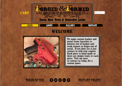 Forged & Formed Mercantile Website