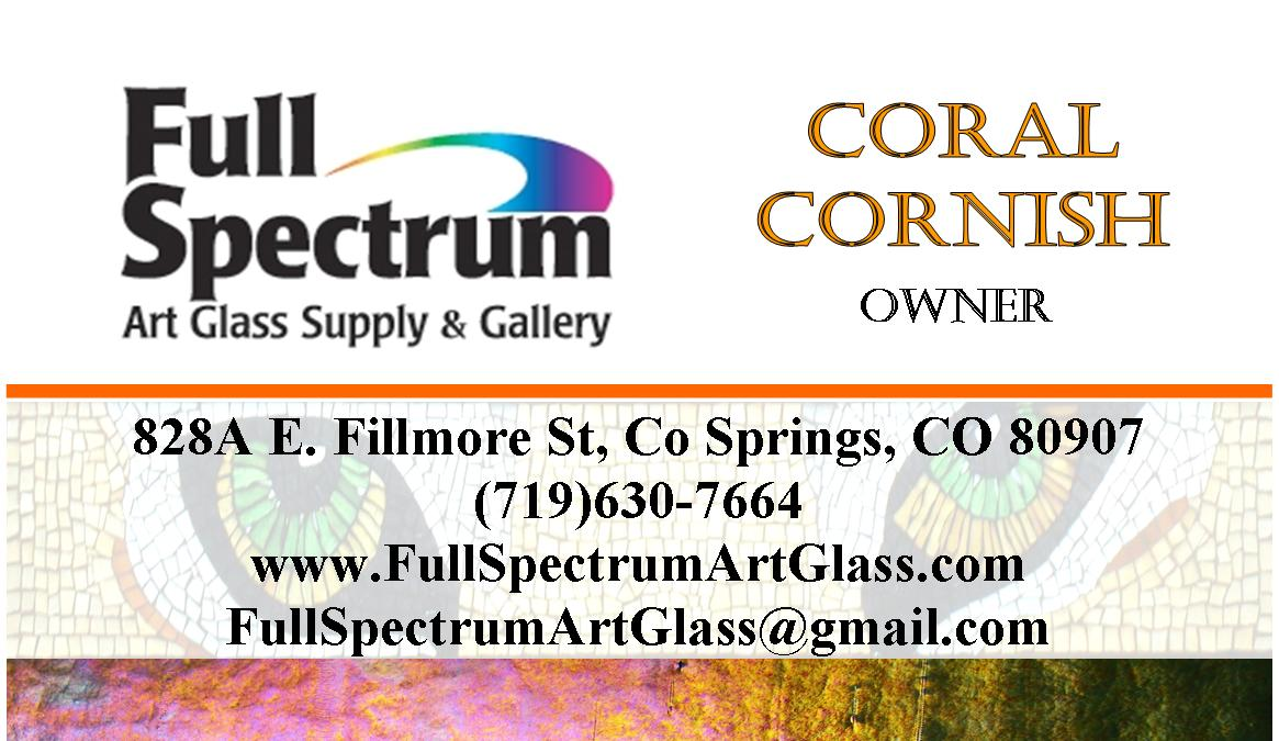 Full Spectrum Business Card (Front)