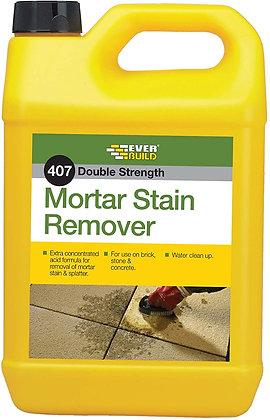 407 MORTAR STAIN REMOVER 5LT  (7.2-10m2 per ltr)