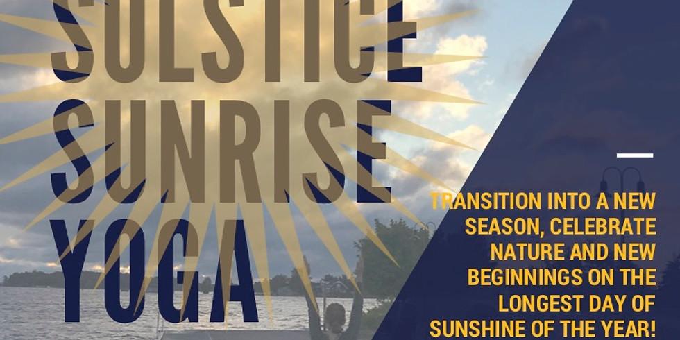 Summer Solstice Sunrise Yoga