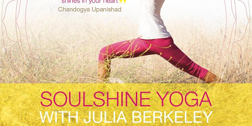SoulShine Yoga with Julia Berkeley