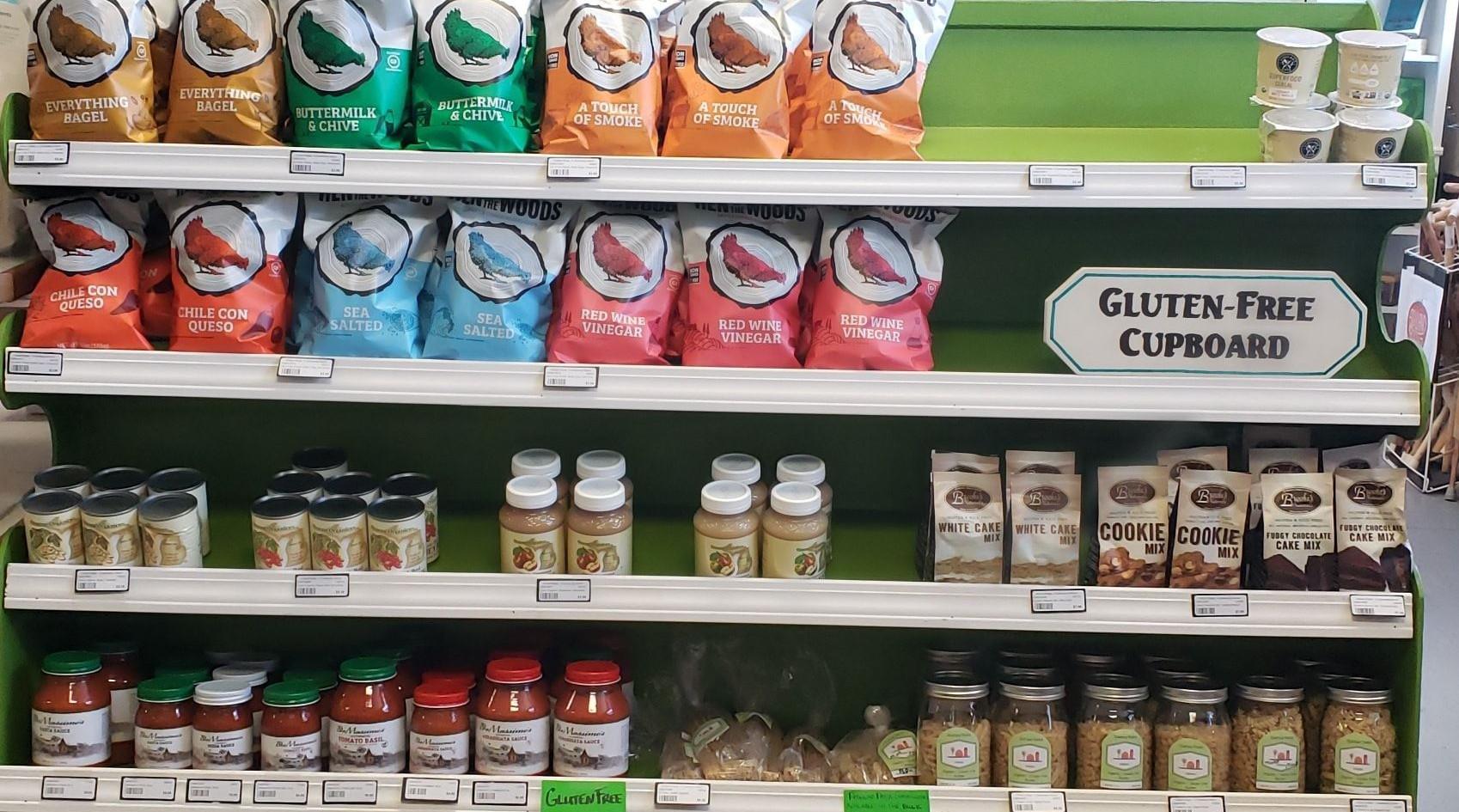 Gluten-Free Cupboard
