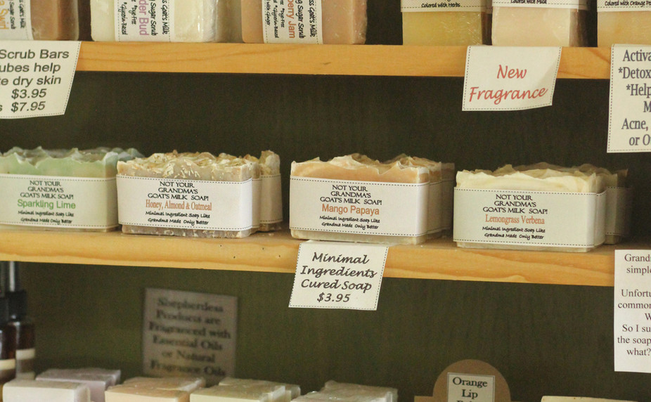 Glycerin and Goat Milk Soaps