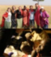 WT Wesley Members in Africa