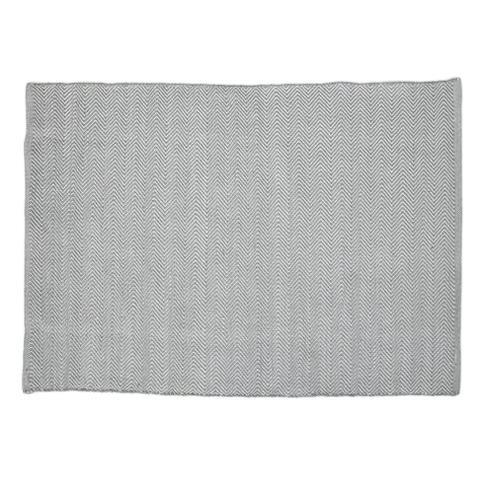 Herringbone Dove Grey