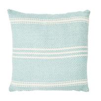 Ox Stripe Teal Cushion